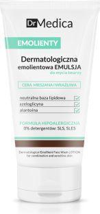 Bielenda Dr Medica Emolienty Dermatologiczna Emulsja do mycia twarzy - cera mieszana wrażliwa 150ml 1