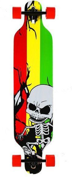 Deskorolka NILS Extreme Longboard wood homeland szkielet (16-3-122) 1