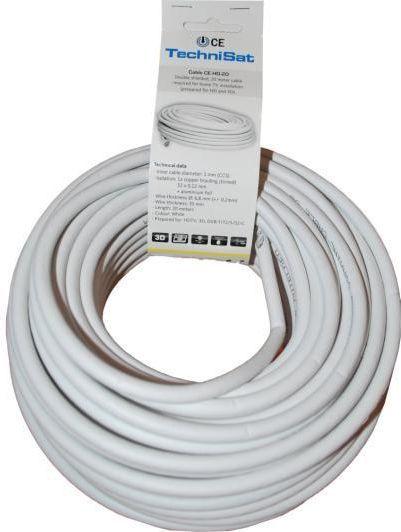 Kabel Technisat Antenowe 20m biały (0002/3611) 1
