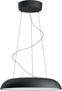 Lampa wisząca Philips nowoczesna minimalistyczna czarny  (8718696159194) 1