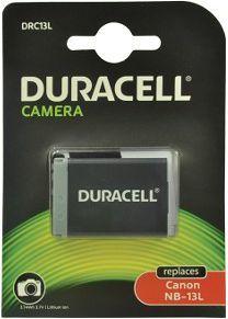 Akumulator Duracell Li-Ion 1010 mAh Canon NB-13L (DRC13L) 1