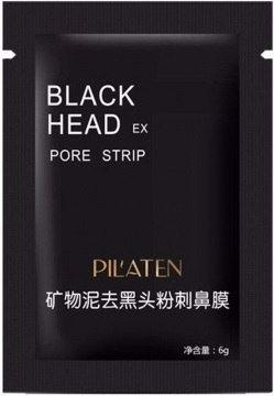 Pilaten Black Mask czarna maska do twarzy 6g 1