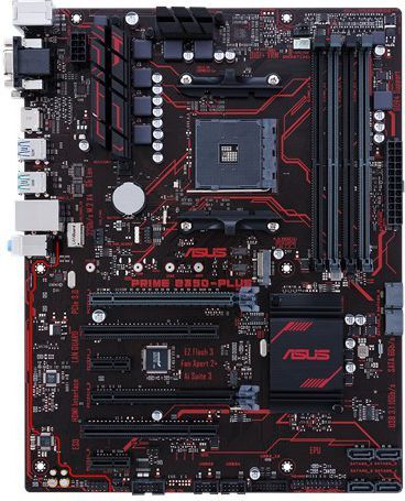 Płyta główna Asus Prime B350-PLUS (90MB0TG0-M0EAY0) 1