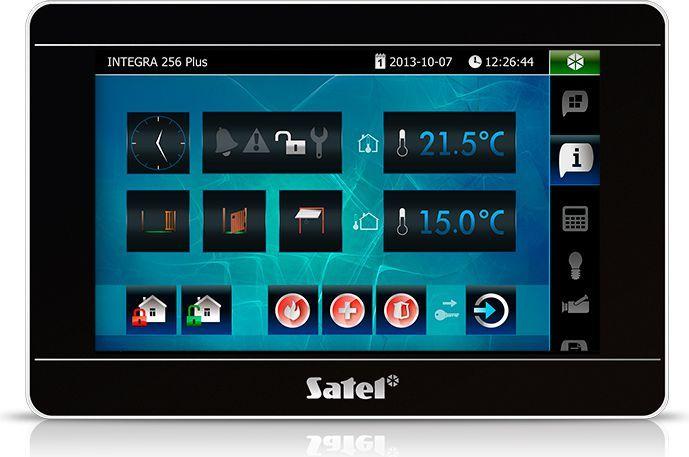 Satel Manipulator z ekranem dotykowym (INT-TSI-BSB) 1