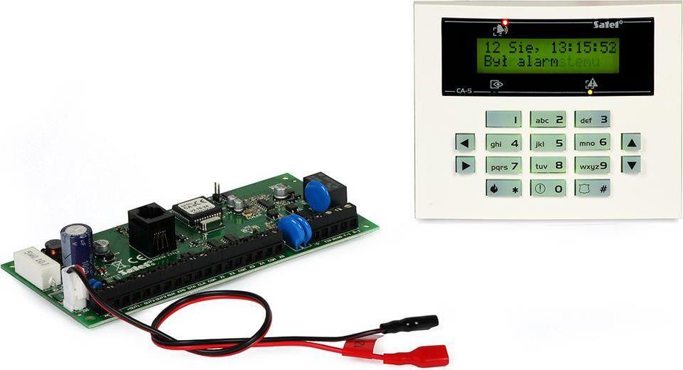 Satel Zestaw Centrala alarmowa, Manipulator sensoryczny (CA-5 KPL-LCD) 1