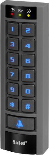 Satel Wielofunkcyjna klawiatura z czytnikiem kart zbliżeniowych (INT-SCR-BL) 1