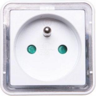 Lampka wtykowa do gniazdka Orno LED z gniazdkiem (OR-LA-1408) 1