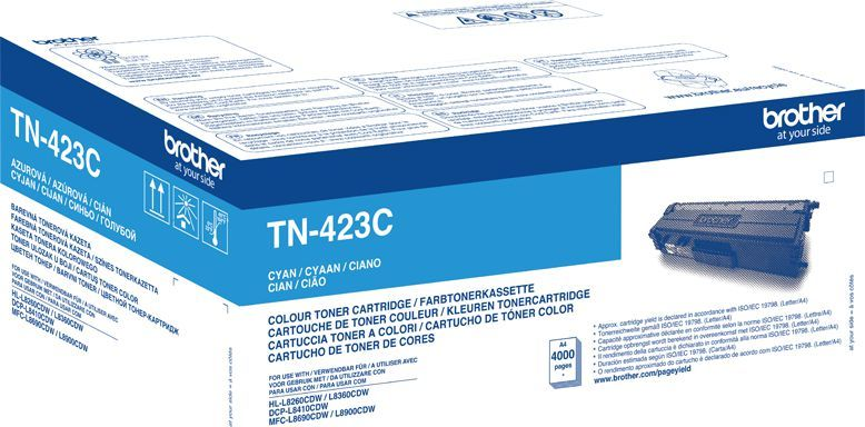 Brother toner oryginalny TN-423C, cyan 1