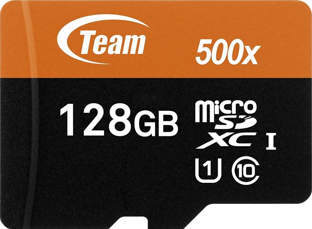 Karta Team Group MicroSDXC 128 MB Class 10 UHS-I/U1  (TUSDX128GUHS03) 1