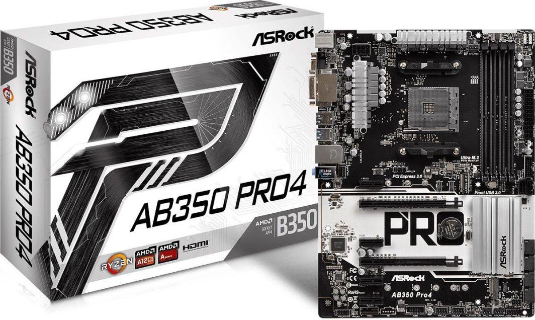 Płyta główna ASRock AB350 PRO4 1