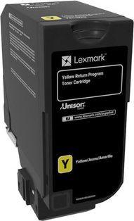 Lexmark Toner Return, Yellow, CS720 CX/CS725 (74C20Y0) 1