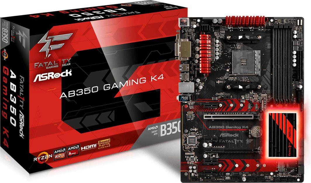 Płyta główna ASRock AB350 GAMING K4 1