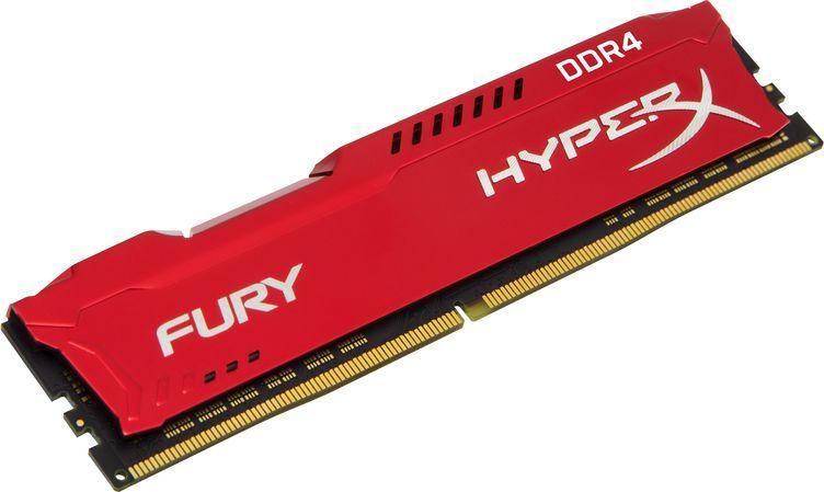 Pamięć HyperX Fury, DDR4, 8 GB, 2666MHz, CL16 (HX426C16FR2/8) 1