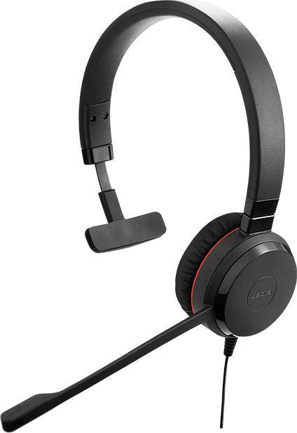 Słuchawki z mikrofonem Jabra Evolve 30 II Mono (14401-20) 1