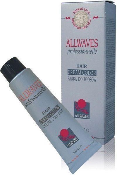 Allwaves Cream Color Farba do włosów 100ml 8.772 1