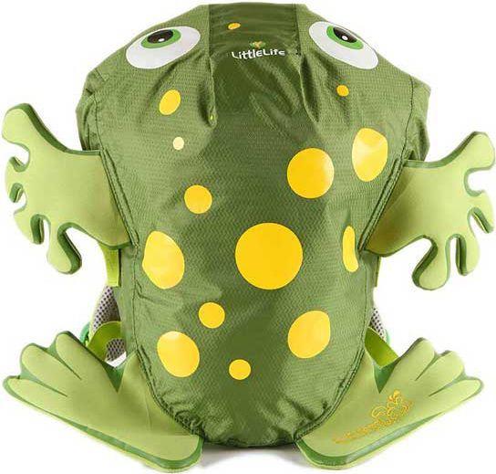 LittleLife Plecak SwimPak Żaba zielona (L12040) 1