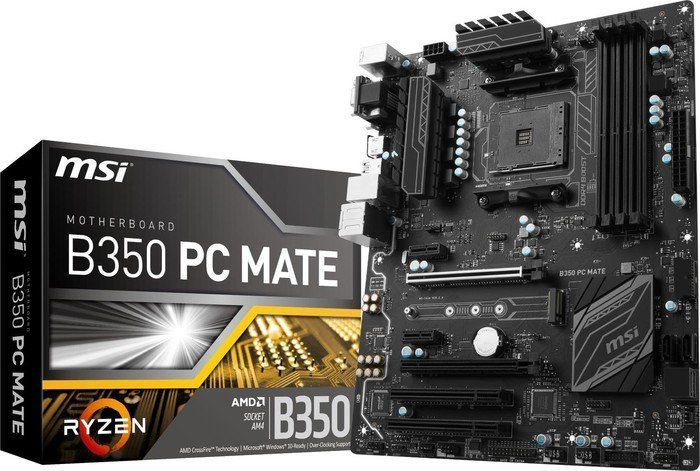Płyta główna MSI B350 PC MATE 1