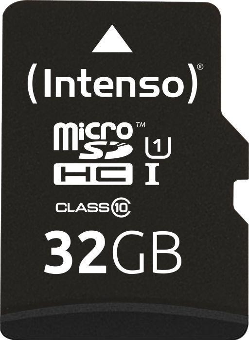 Karta Intenso Professional MicroSDHC 32 GB Class 10 UHS-I/U1  (3433480) 1