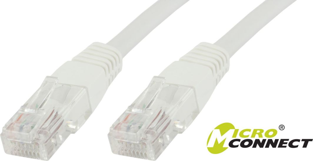 MicroConnect Patchcord U/UTP, CAT6, 4 pack, 20m, biały (V-UTP620WVP) 1