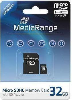 Karta MediaRange MR959 MicroSD 32 GB Class 10  (MR959) 1