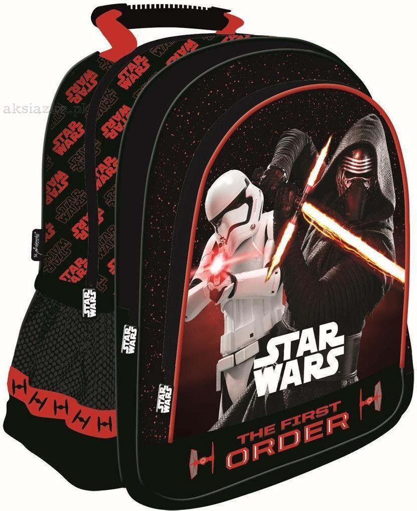 St. Majewski Plecak szkolny Star Wars Epizod VII Red czarno-czerwony (233758) 1