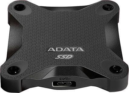 Dysk zewnętrzny ADATA SSD 512 GB Czarny (ASD600-512GU31-CBK) 1