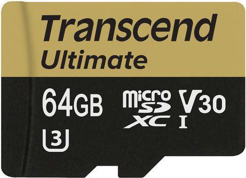 Karta Transcend MicroSDHC 64 GB Class 10  (TS64GUSDU3M) 1