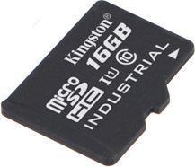 Karta Kingston Industrial MicroSDHC 16 GB Class 10 UHS-I/U1  (SDCIT/16GBSP) 1