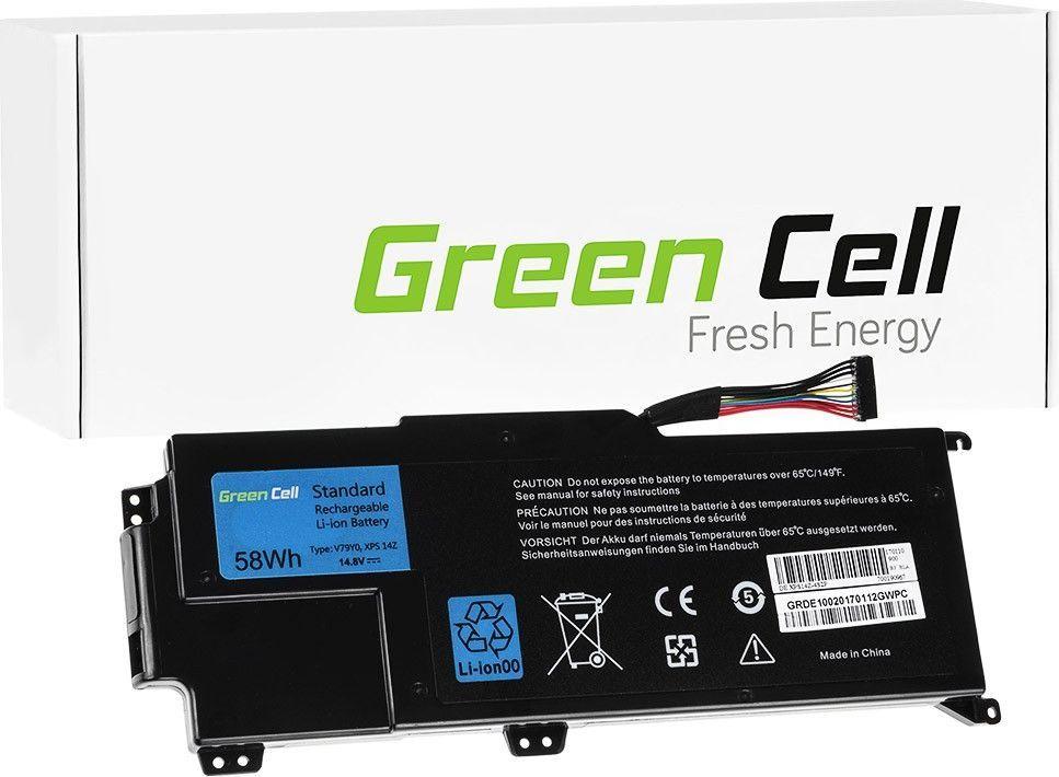 Bateria Green Cell YMYF6 V79Y0 do Laptopa Dell XPS 14z L412z (DE100) 1