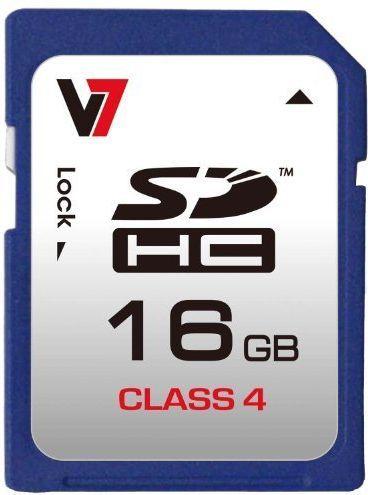 Karta V7 SDHC 16 GB Class 4  (VASDH16GCL4R-2E) 1