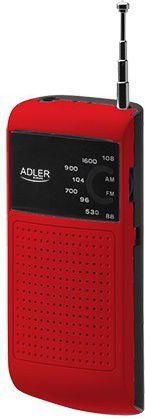 Radio Adler AD1159R czerwone 1