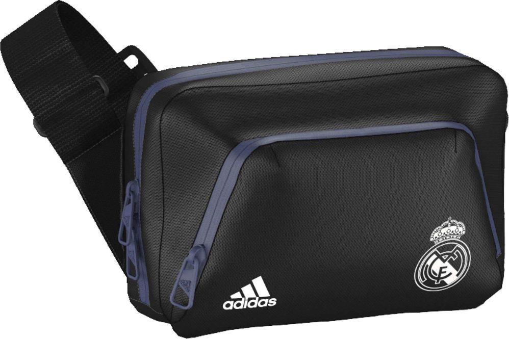 225e87d4aa915 Adidas Real Madrid S94922 Torba - Organizer czarno-niebieska białe logo  (75326)