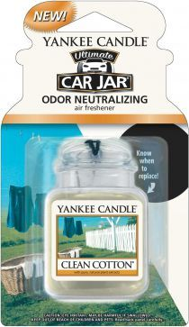 Yankee Candle Car Jar Ultimate Clean Cotton 1