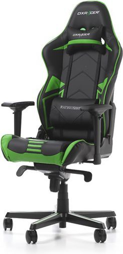 Fotel DXRacer Racing Pro Czarno-zielony (OH/R131/NE) 1