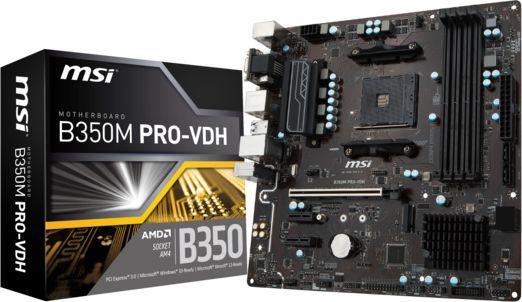 Płyta główna MSI B350M PRO-VDH 1