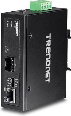 Konwerter światłowodowy TRENDnet 100/1000Base-T do SFP Media (TI-F11SFP) 1
