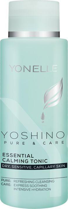 Yonelle Yoshino Pure&Care Essential Calming Tonic tonik do twarzy 400ml 1