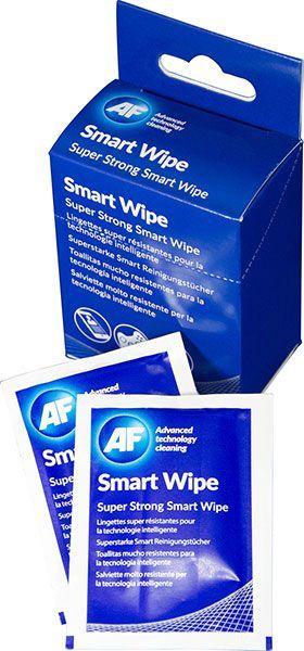 AF Chusteczki nawilżane Smart Wipes do czyszczenia ekranów 50 szt. (SMARTWIPE10) 1