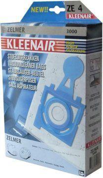 Worek do odkurzacza Kleenair ZE-4 (ZELMER 3000 HPF) 1
