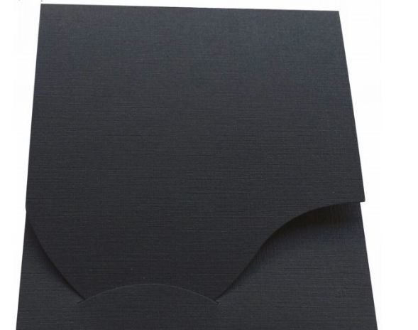 Pokrowiec Daiber Etui na zdjęcia paszportowe, 100 sztuk, czarny (16020) 1