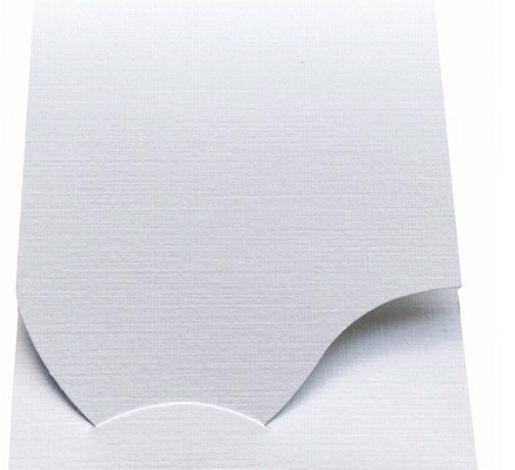 Pokrowiec Daiber Etui na zdjęcia paszportowe, 100 sztuk, biały (16019) 1