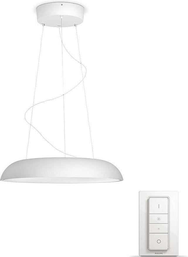 Lampa wisząca Philips nowoczesna biały  (8718696159187) 1