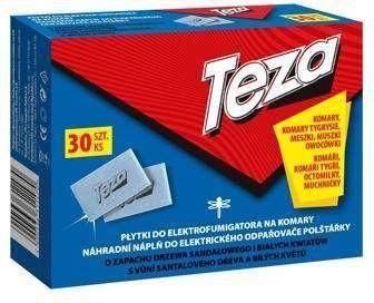 Sarantis Teza Płytki do Elekrofumigatora na komary 1op. 1