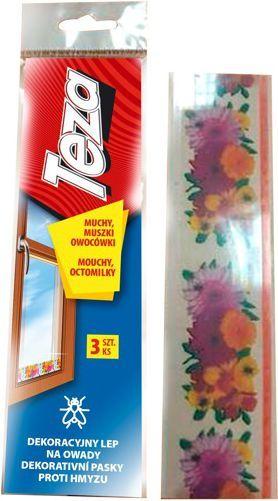 Sarantis Teza Dekoracyjny Lep na owady (muchy,muszki owocówki) 3szt 1
