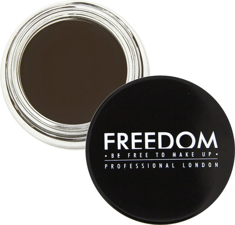 Makeup Revolution Brow Pomade Ebony 2,5g 1