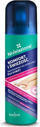 """Farmona Nivelazione Stopy Dezodorant do stóp 4w1 dla kobiet """"Komfort i Świeżość"""" 180ml 1"""