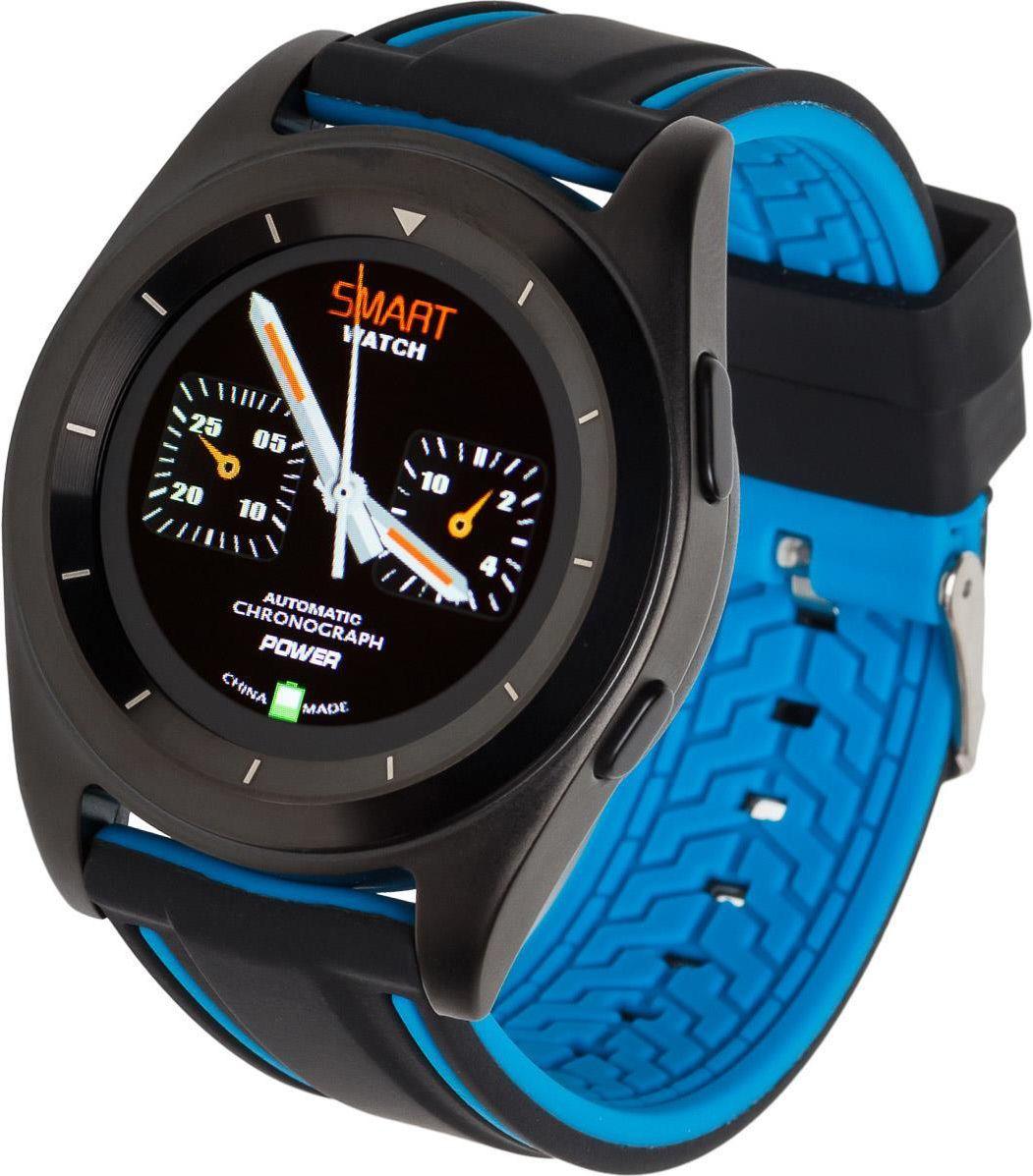 Smartwatch Garett Electronics GT13 Czarno-niebieski  (GT13 czarno/niebieski) 1