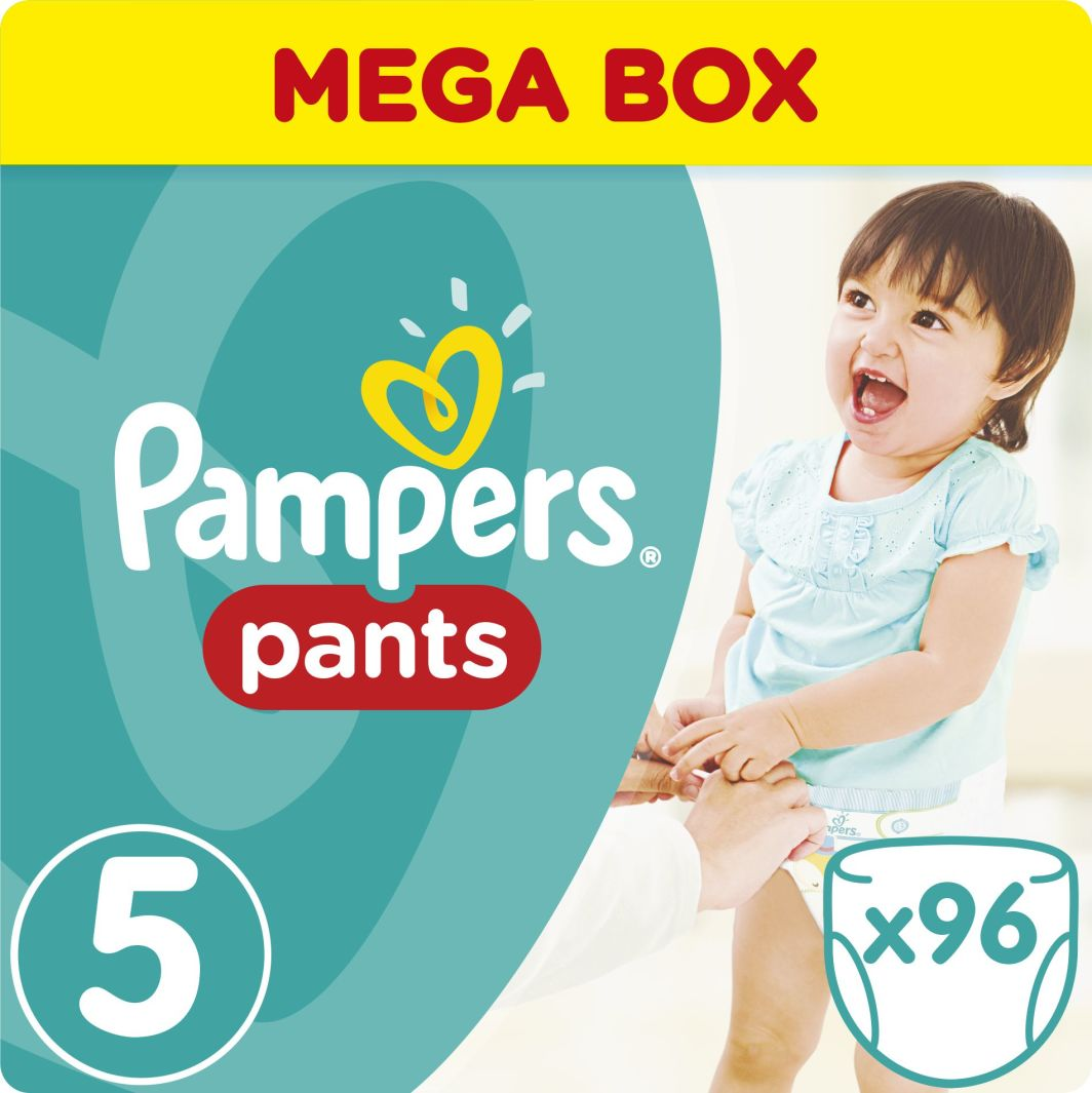 Pampers Pants Pieluchomajtki 5 Junior 96 sztuk 1