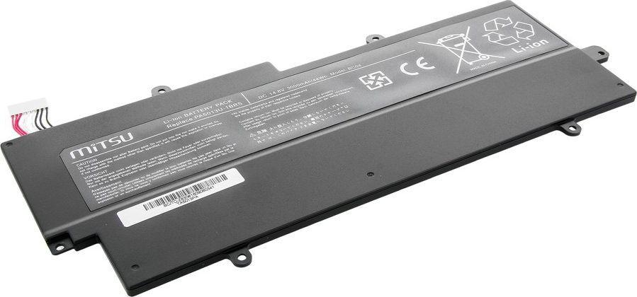 Bateria Mitsu do Toshiba Z830, Z935, 3000 mAh, 14.8 V (BC/TO-Z830) 1