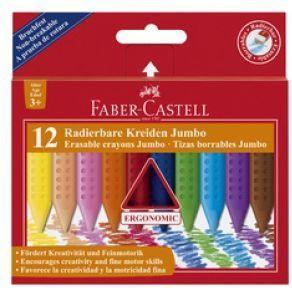 Faber-Castell Kredki trójkątne Jumbo 12 kolorów - WIKR-914885 1
